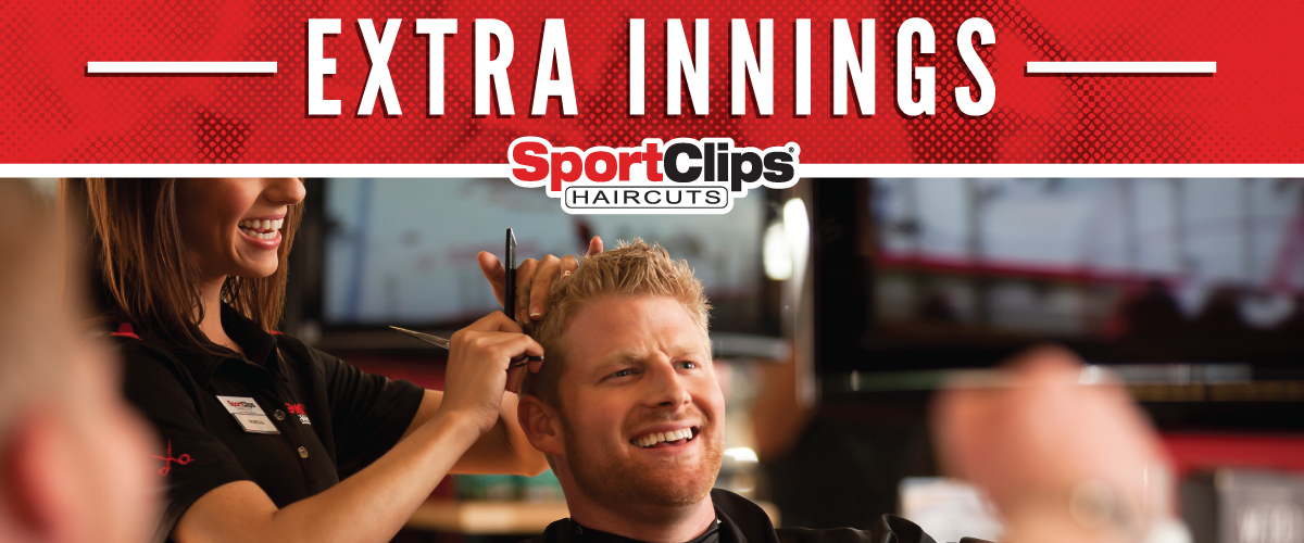 The Sport Clips Haircuts of Green Valley Ranch Extra Innings Offerings