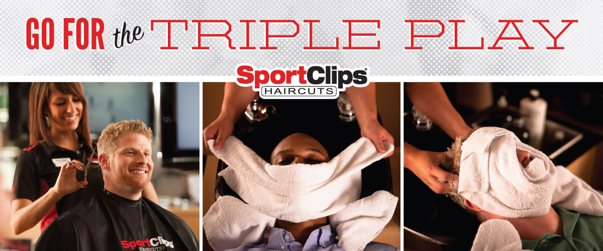 The Sport Clips Haircuts of Green Valley Ranch Triple Play