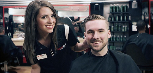 Sport Clips Haircuts of Green Valley Ranch​ stylist hair cut